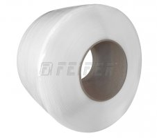 PP (Polypropylene) Band 5,5 x 0,50 mm, 200/190 - 5000 m, 700 N, natural (weiß)